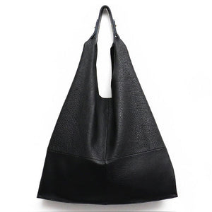 The HOBO leather tote bag