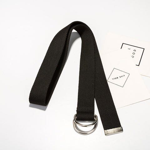 The HARAJUKU canvas belt