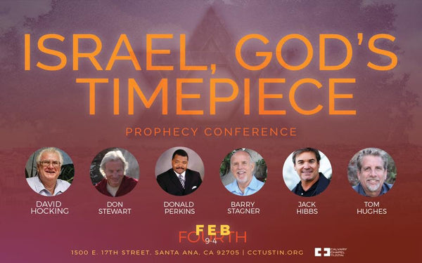 Proximity Prophecy Conference 2017: Israel, God's Timepiece (2 Disc Audio CD) - Calvary Chapel Tustin