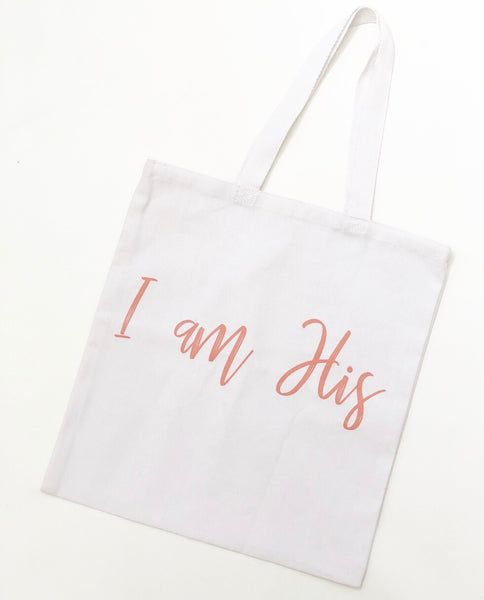 I am His Tote Bag - Calvary Chapel Tustin
