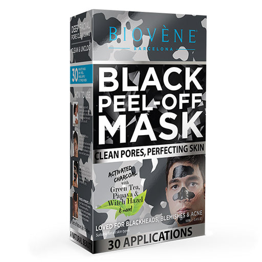 Black Peel-Off Mask for Men