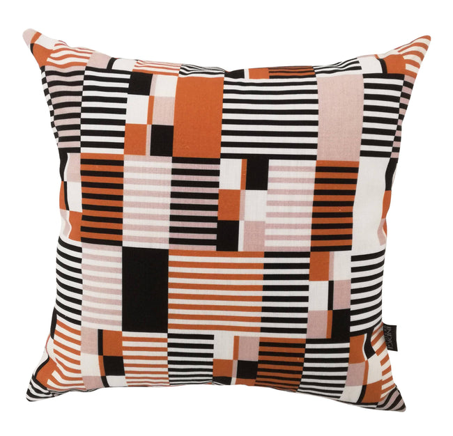 Digital Kente Clay Cushion Cover