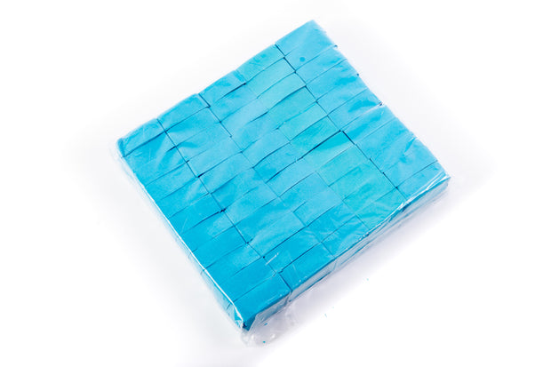 1kg bag of Light Blue Confetti slips