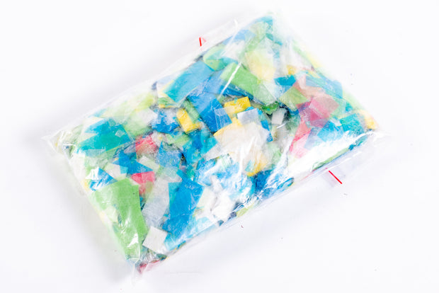 1kg bag of eco confetti slips