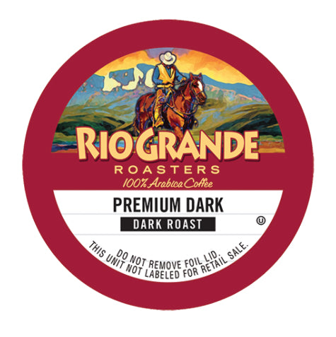 Rio Grande Premium Dark Single Serve Capsules 80 ct.