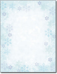 "50lb Blue Flakes Stationery Sheets, measure (8 1/2"" x 11"") , compatible with inkjet and laser"