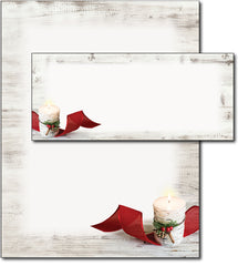 Birch Candle Holiday Stationery & Envelopes