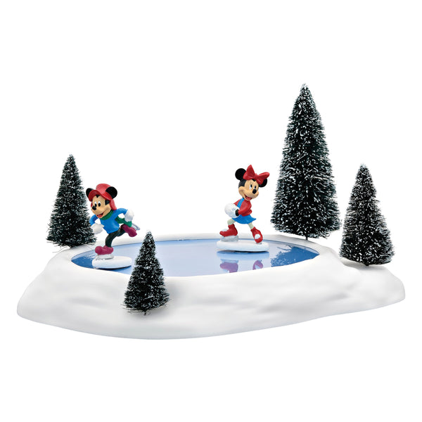 D56 Mickey & Minnie's Animated Skating Pond 4054847