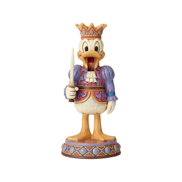 Jim Shore Reigning Royal - Donald Duck Nutcracker 6000948
