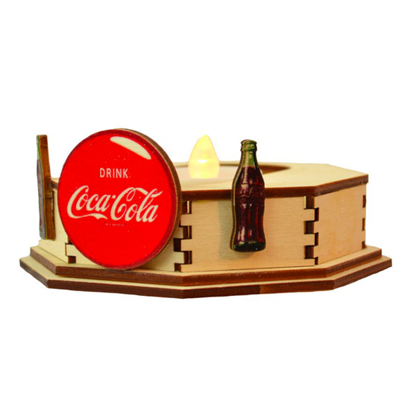 Ginger Cottages Coca-Cola Coca-Cola Display Stand Single CGCD105