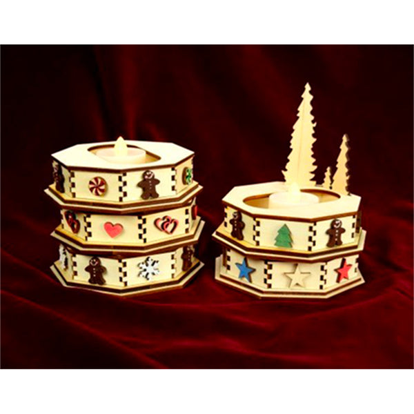 Ginger Cottages Single Cottage Display Snowflakes GCD105S
