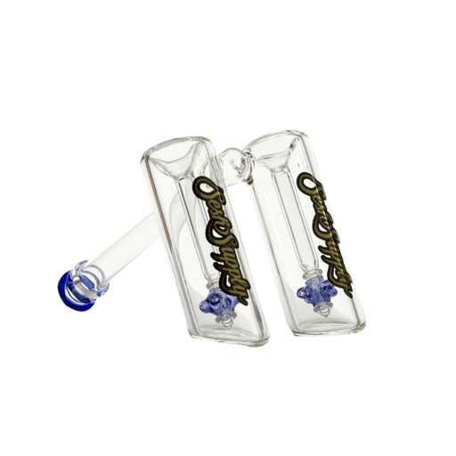 Double Bubbler with Propeller Percs by Sesh Supply - 7 Inches - Assorted Colors