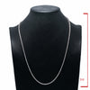 "14K White Gold 26"" Men's Necklace With 8.75 CT Diamonds"