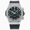 Hublot Classic Fusion Chronograph 541.NX.1171.RX 42MM Black Dial With Rubber  Bracelet
