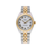 Rolex Lady-Datejust 178243 31MM White Dial With Two Tone Bracelet