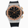 Hublot Classic Fusion Chronograph 521.NO.1181.LR 45MM Black Dial With Crocodile Skin Bracelet