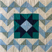 Windy Night Block for the IAQ Night Sky Mystery Quilt