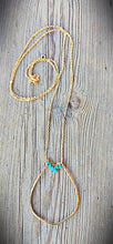 14kt Gold Fill Turquoise Necklace