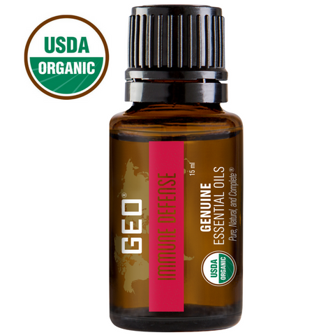 Immune Defense Organic Essential Oil - 15 ml