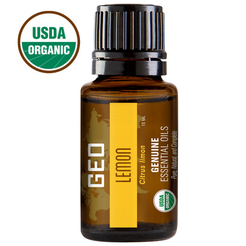 Lemon Organic Essential Oil - 15 ml