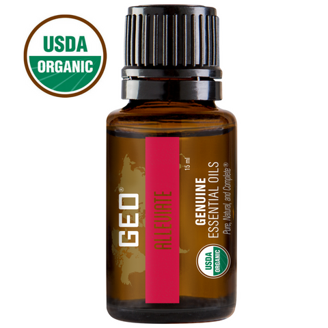 Alleviate Organic Essential Oil - 15 ml