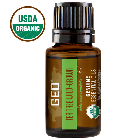 Tea Tree Organic Wild Grown Essential Oil 15 ml