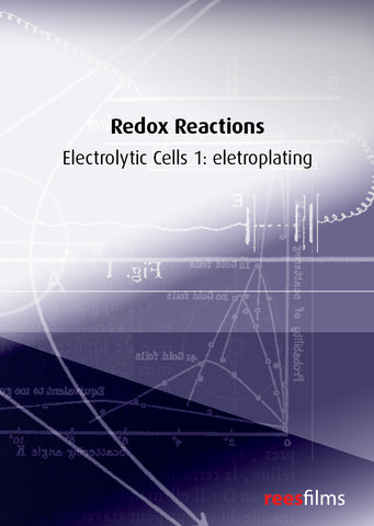 Redox Reactions: Electrolytic cells 1: electroplating
