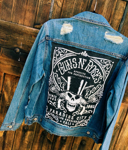 Band Distressed Denim