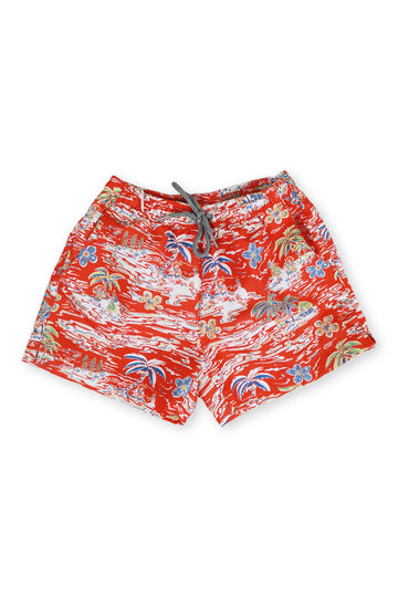 By The Sea Bali Kids Swimtrunk Coral