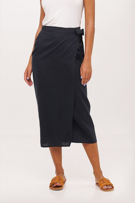Rhodes Skirt Black