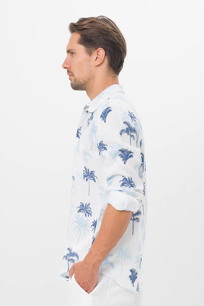 By The Sea Bali Palm Shirt