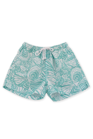 Tropical SwimTrunk Blue_