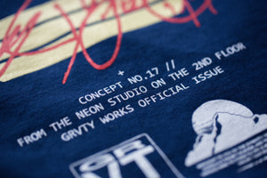 GRVTY Projects 'Dynasty' Tee (Navy Blue)