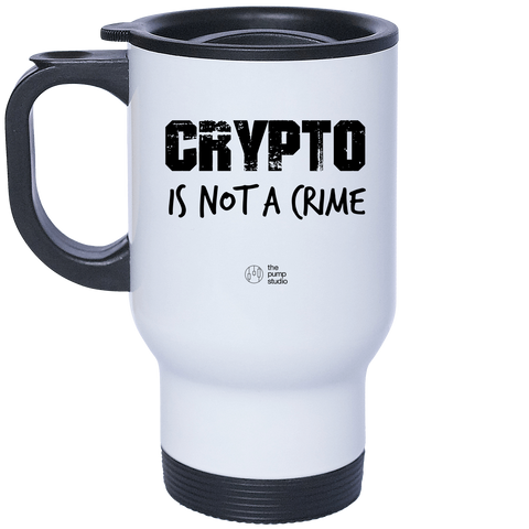 Mug Isotherme 'Crypto is Not a Crime'