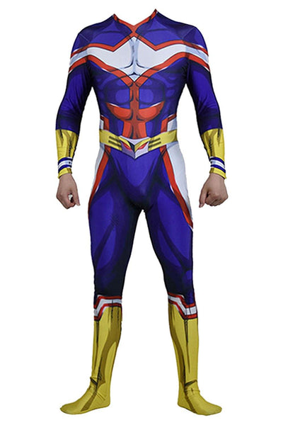 My Hero Academia Boku no Hero Academia All Might Jumpsuit Cosplay Kostüm Neu