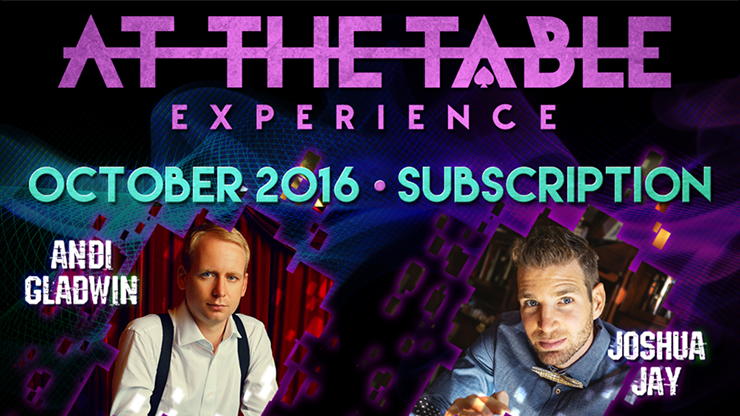 Live At The Table October 2016 - Andi Gladwin and Josh Jay