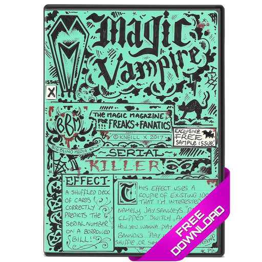 Magic Vampire FREE SAMPLER Instant Download eBook