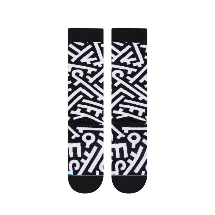 Stance Socks Aaron De La Cruz Mens Black