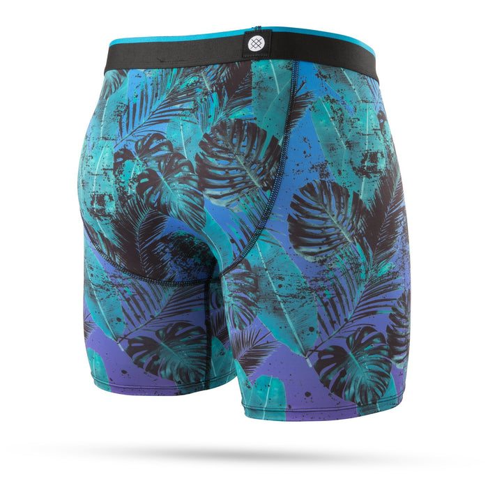 Stance Underwear Palm Night Boxer Brief Blue