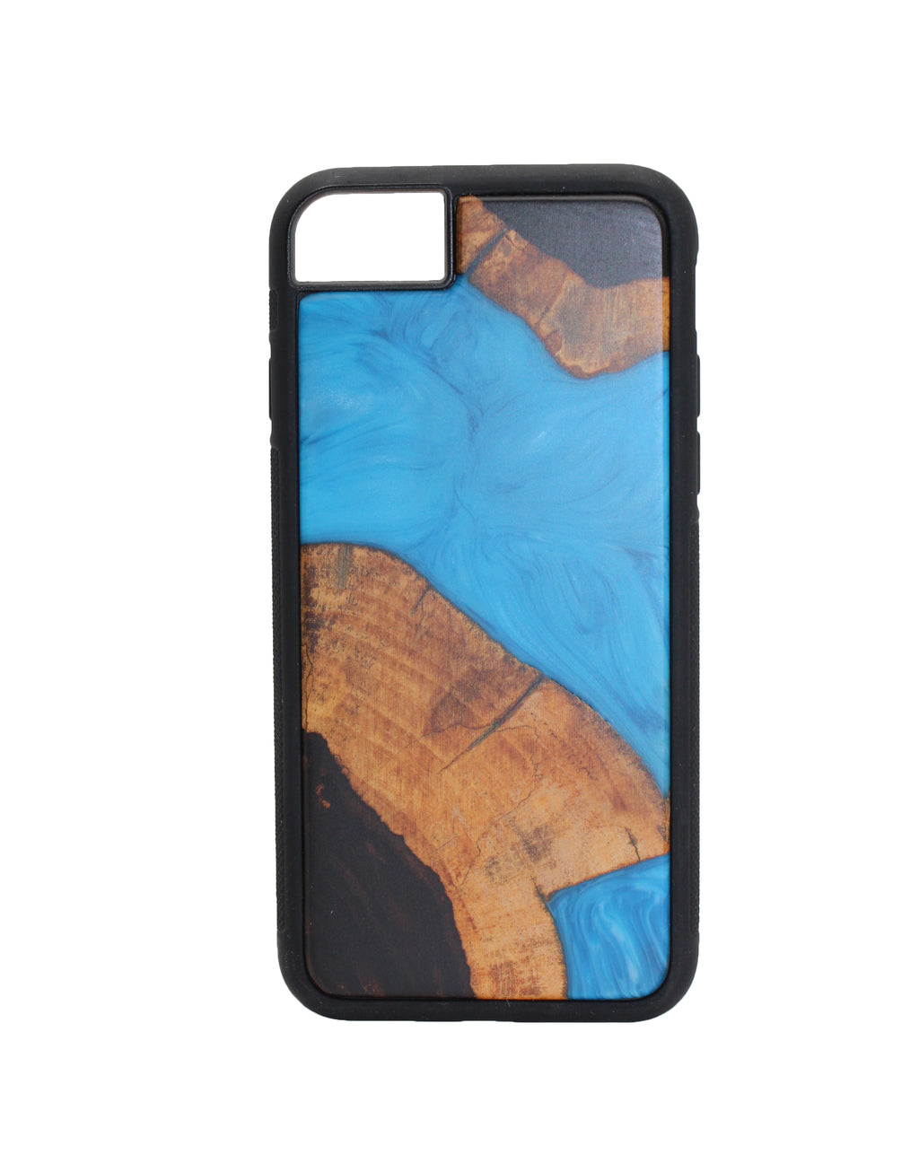 LiveECO Wood and Resin iPhone 7/8 - Eco-friendly Phone Cases all iPhone Models Available - 100% recyclable materials - Eco-friendly protection for Apple iPhone - Fully certified Guarantee