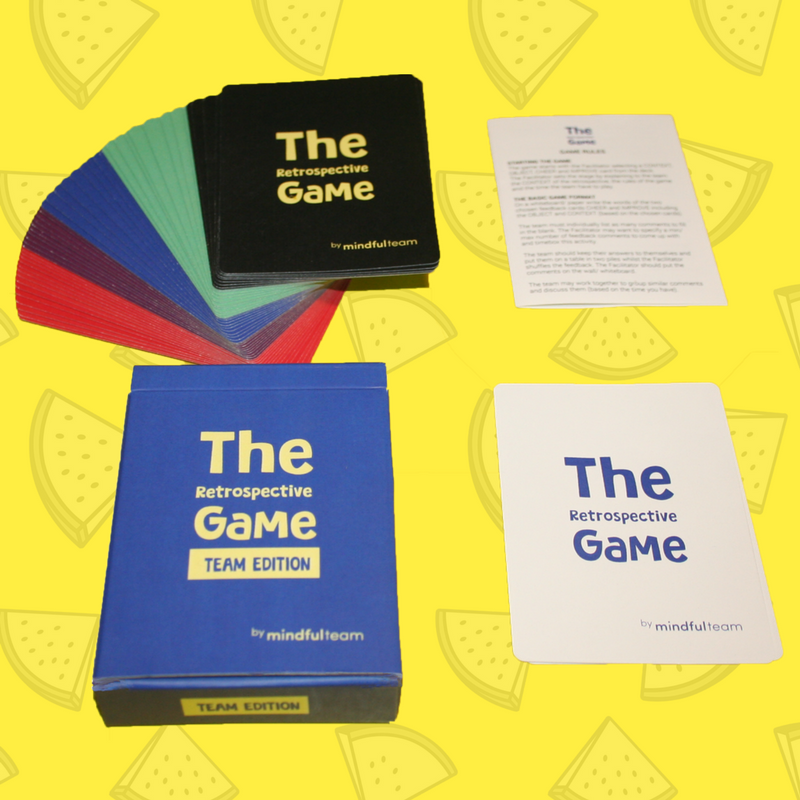 Team Edition | The Retrospective Game with free worldwide P&P - theretrospectivegame