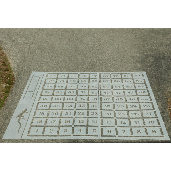 playground game stencils Stenci Ease