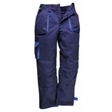 Portwest TX11 Contrast Cargo Trousers Navy