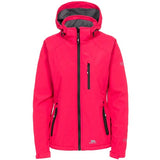 Trespass Bela II Waterproof Jacket in Raspberry