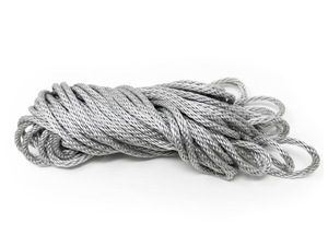 "3/16"" Silver Halyard Rope"