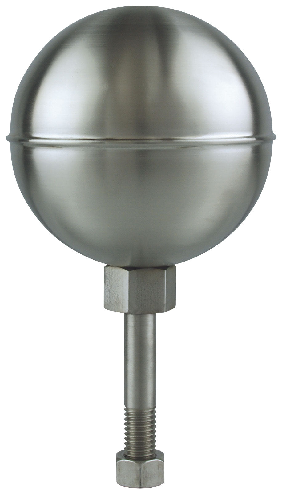 Stainless Steel Ball Ornament - Satin Finish