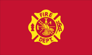 Fire Department Nylon Outdoor Flag