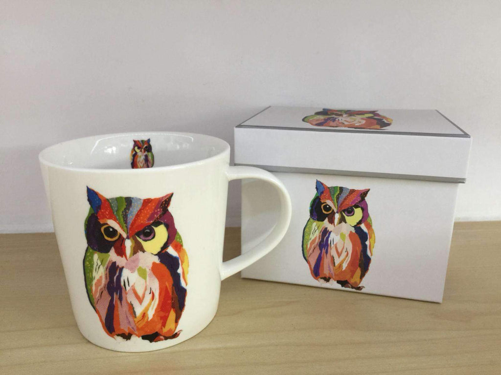Trend Mug Gift Box Leros Owl - Ironica Tea Shop