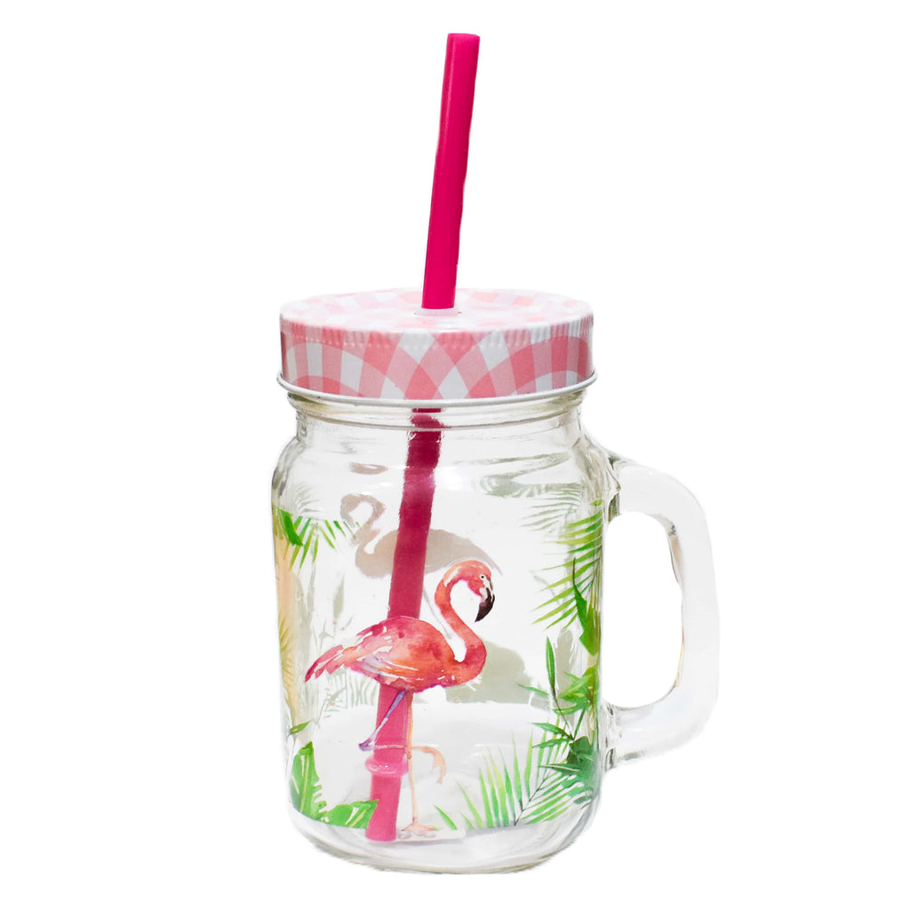 Tumbler Tropical Flamingo - ironica-tea