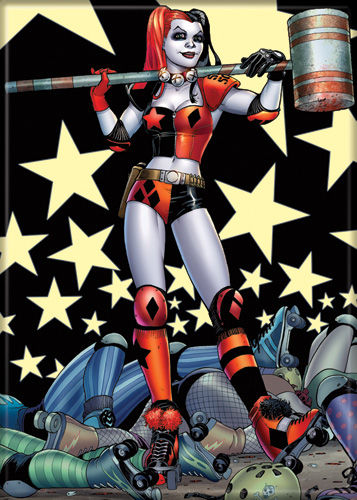 DC Comics Harley Quinn Photo Magnet